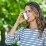 Больные астмой должны избегать посещения парных.