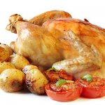 приготовленная курица
